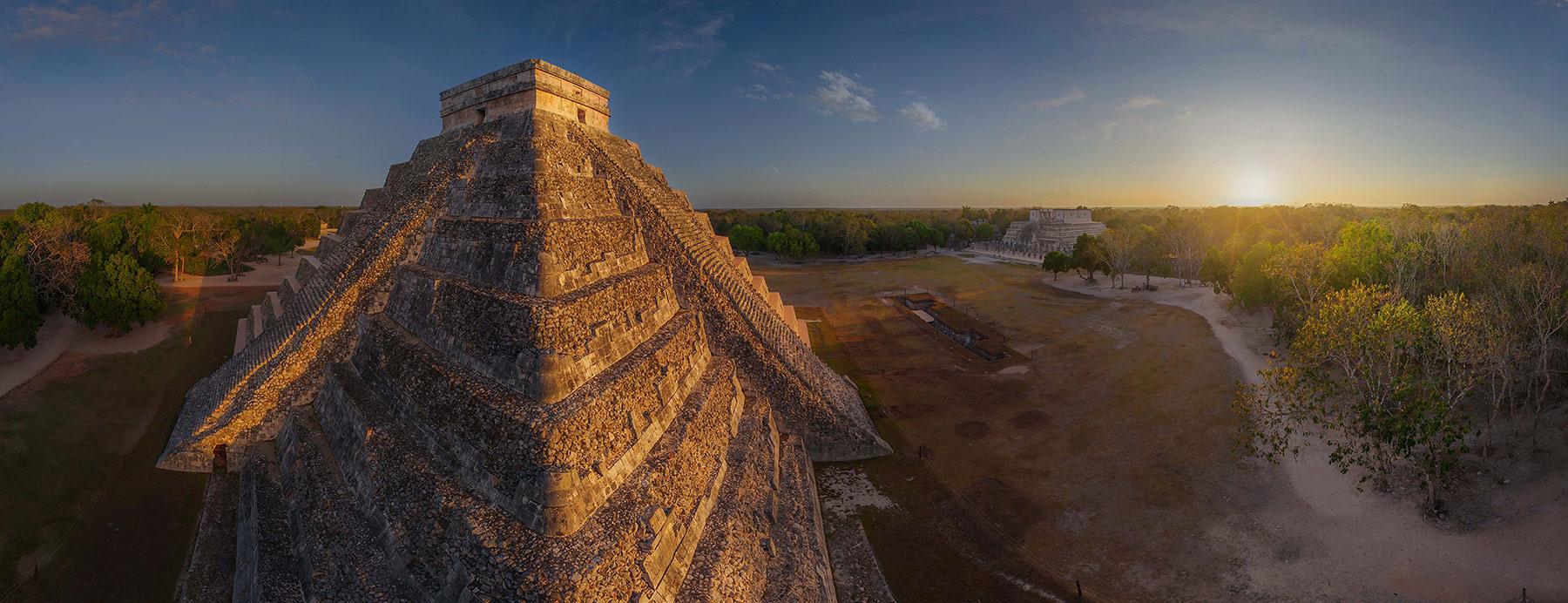 Chichen Itza, Mexico. (AIRPANO /CATERS NEWS)