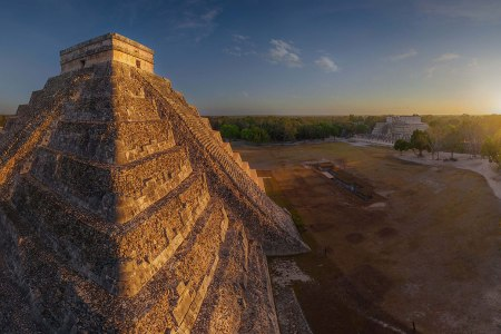 Chichen Itza, Mexico. (AIRPANO /CATERS NEWS)
