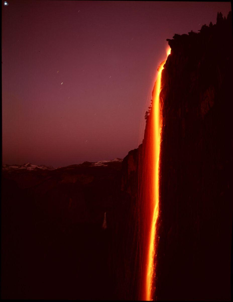 Yosemite Park's Firefall