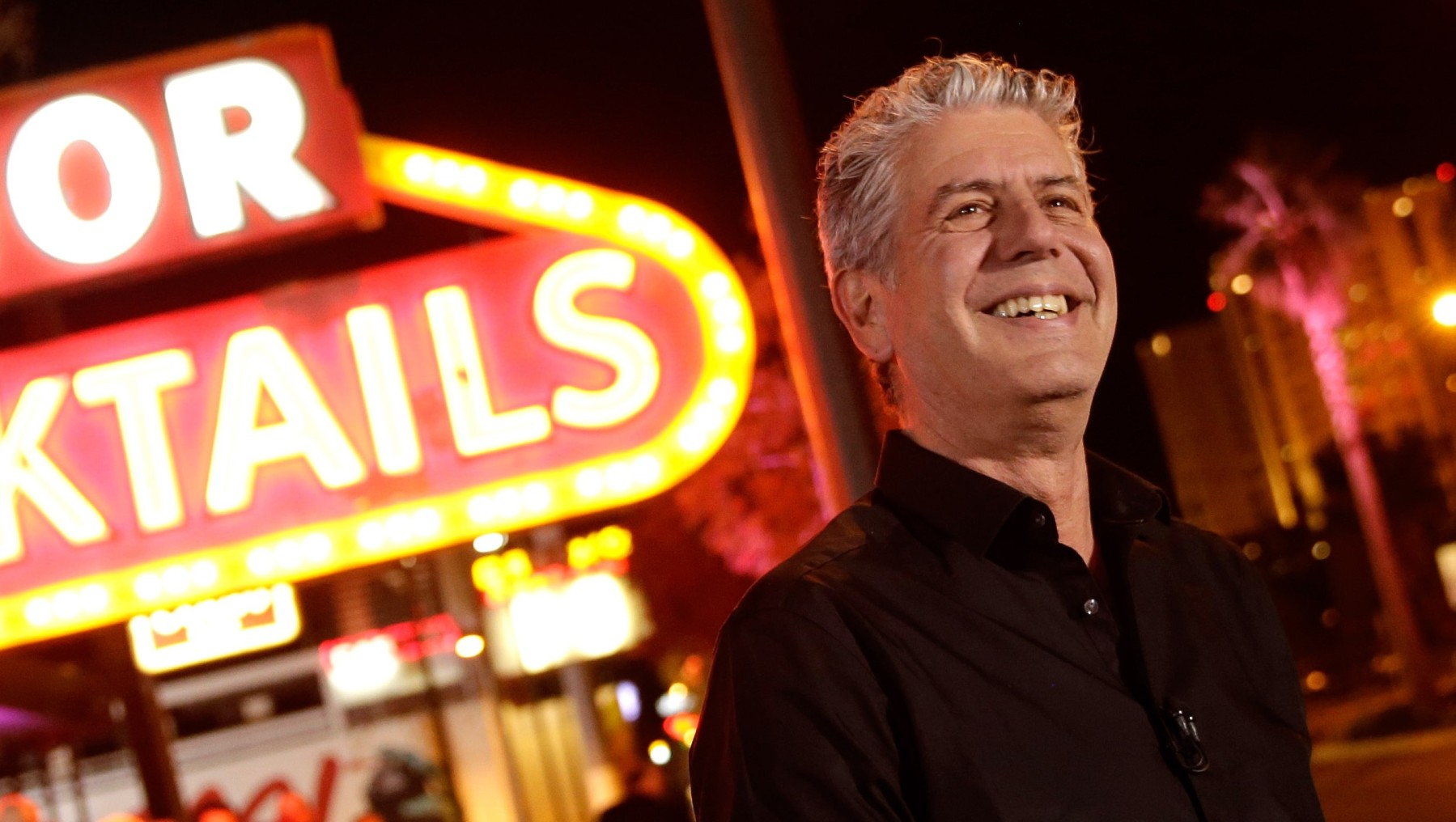 "LAS VEGAS, NV - NOVEMBER 10: TV Personality Anthony Bourdain attends ""Parts Unknown Last Bite"" Live CNN Talk Show hosted by Anthony Bourdain at Atomic Liquors on November 10, 2013 in Las Vegas, Nevada. 24280_001_0259.JPG  (Photo by Isaac Brekken/WireImage)"