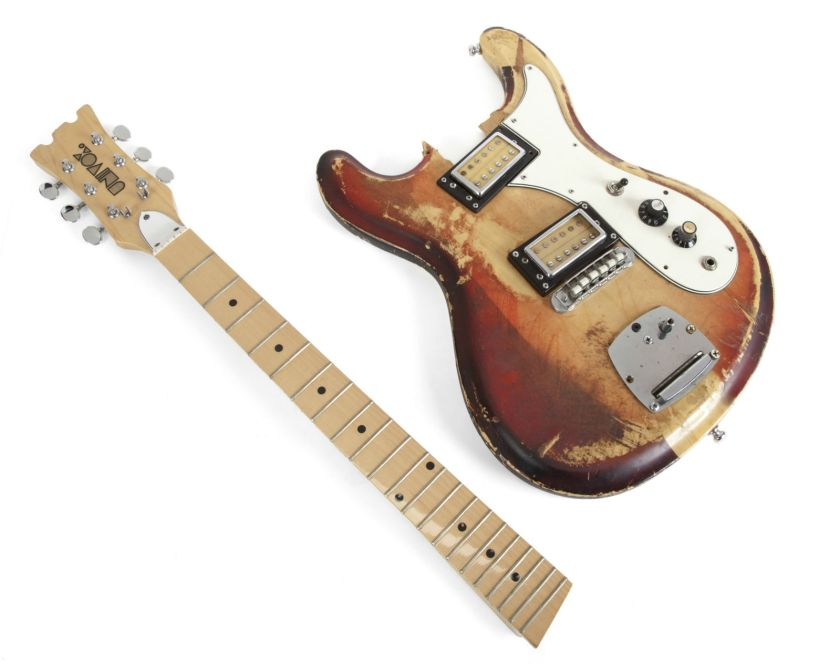 Kurt Cobain Stage-Played 1989 Univox Guitar