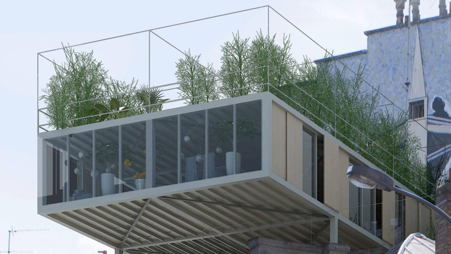 Parasitic Apartments