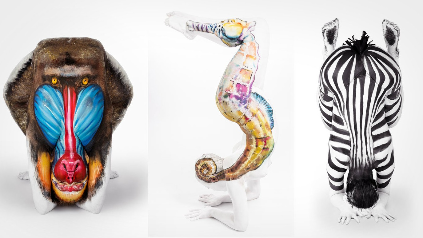 Body Painting Artist Morphs Into Animals Insidehook
