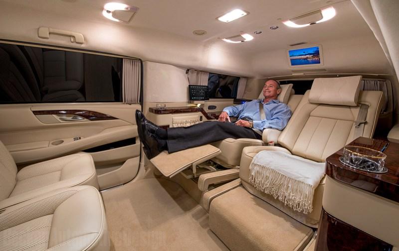 Stretched Cadillac Escalade EVS (Becker Automotive Design)