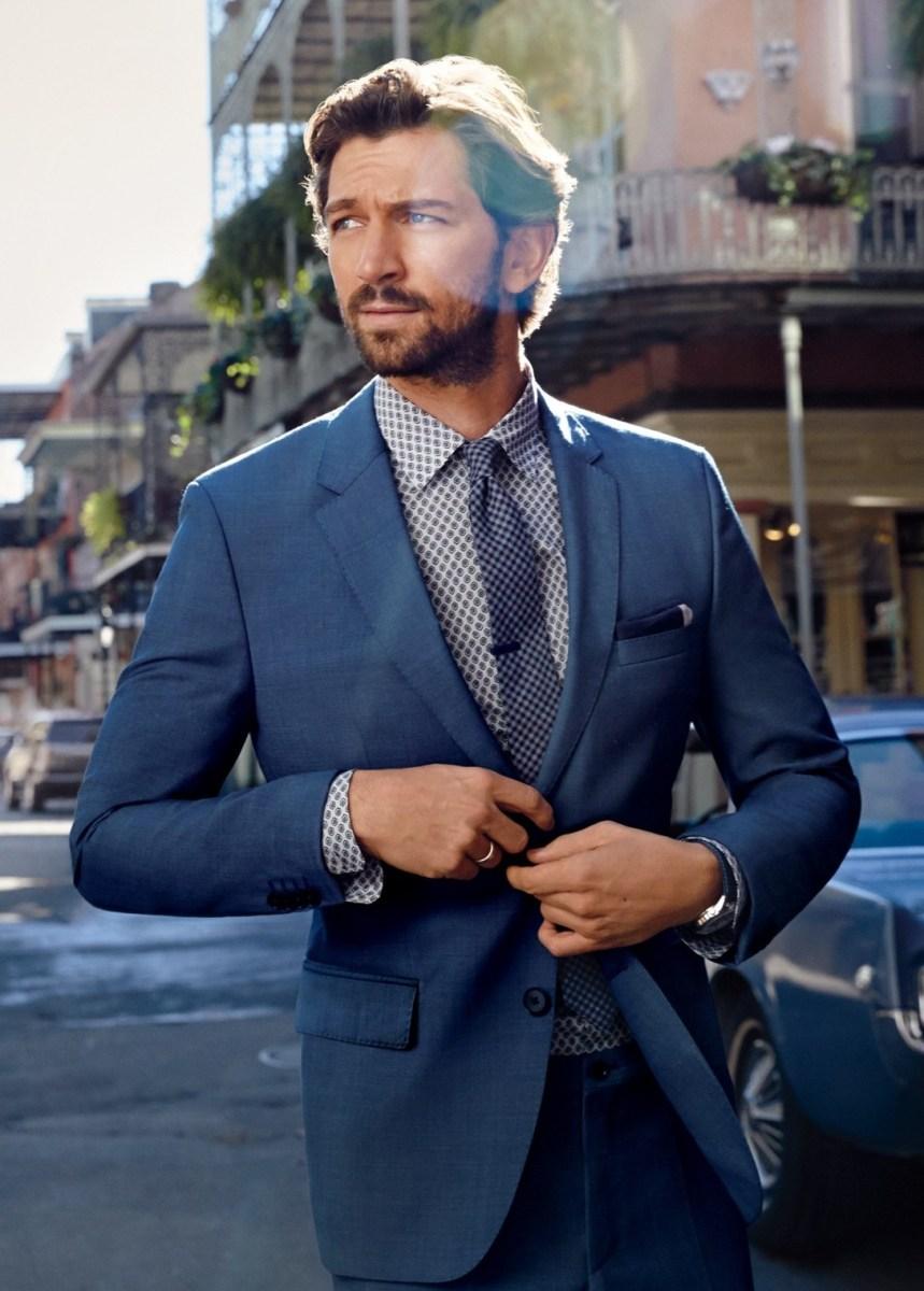 'Game of Thrones' Actor Michiel Huisman Wearing Hugo Boss