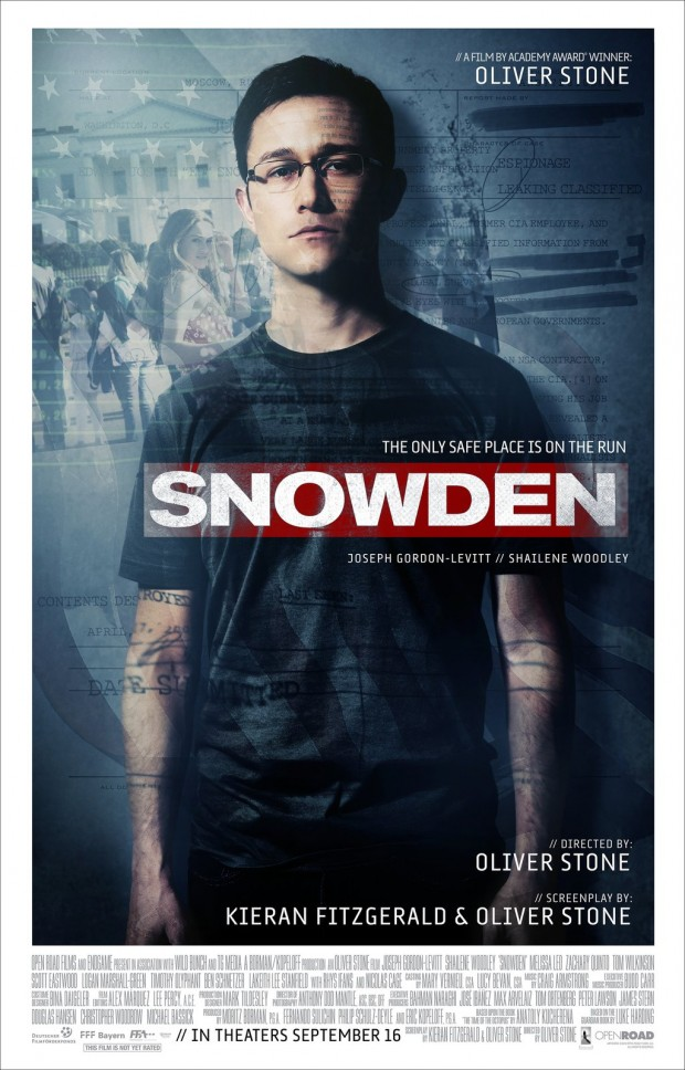 'Snowden' Due in Theaters Sept. 16