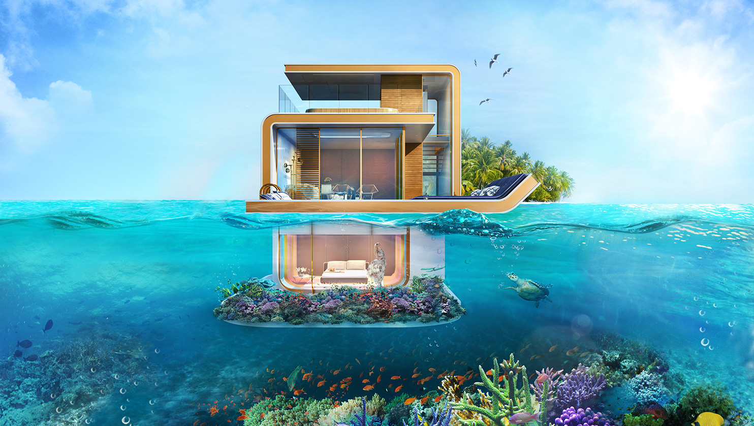 Living the Luxury Life in a Home That Floats