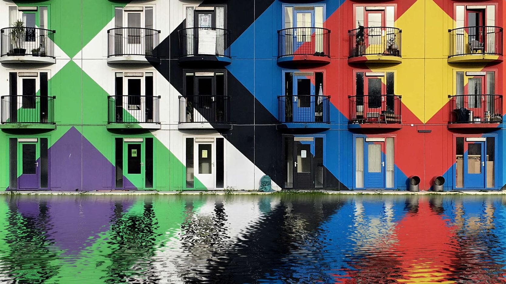 Beyond Orange: This Technicolor Instagram Gallery Celebrates Bold Dutch Architecture  http://architizer.com/blog/beyond-orange-dirk-bakker/