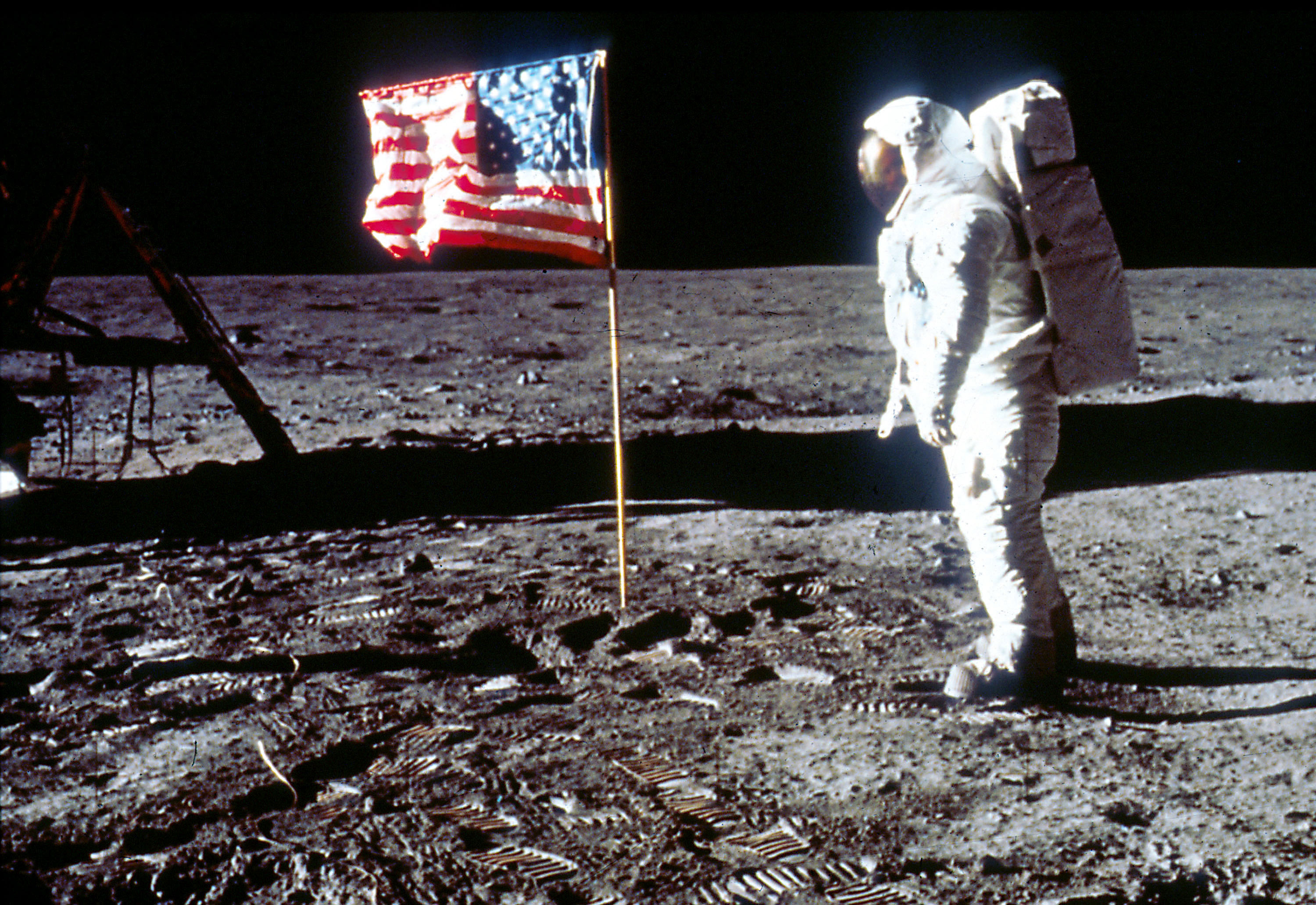 """Apollo 11 Astronaut Shares Photo He Found """"at the Bottom of a Box"""" - InsideHook"""