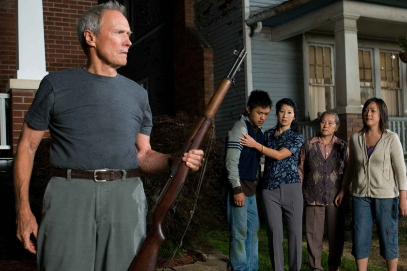 BPX234 CLINT EASTWOOD BEE VANG BROOKE CHIA THAO CHEE THAO & AHNEY HER GRAN TORINO (2008)