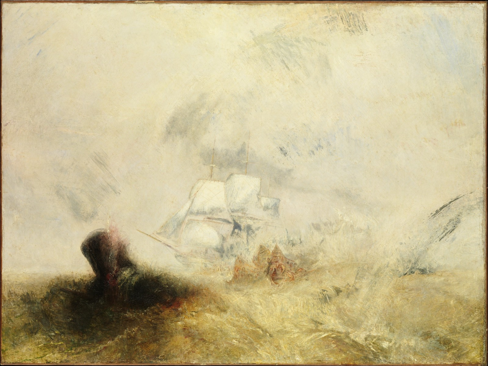 William Turner's Whaling Paintings at the Met Through Aug. 7