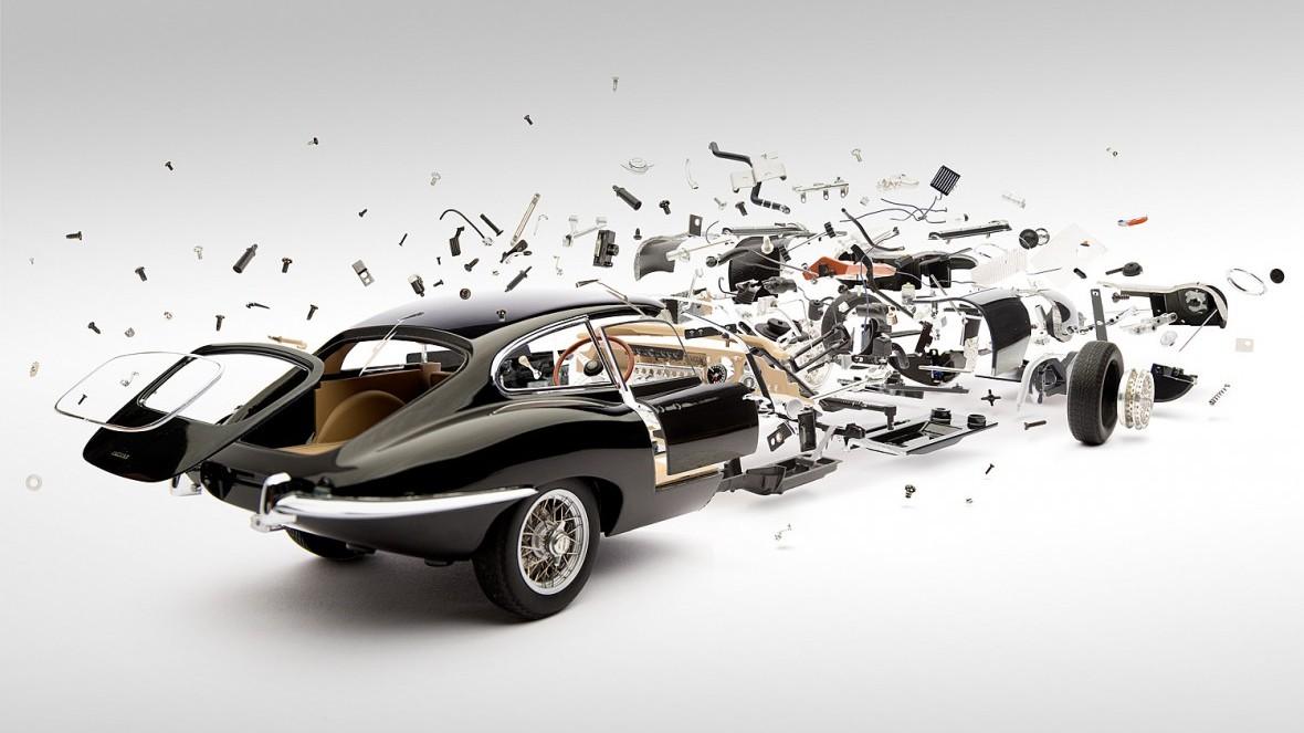 Disintegrating Cars