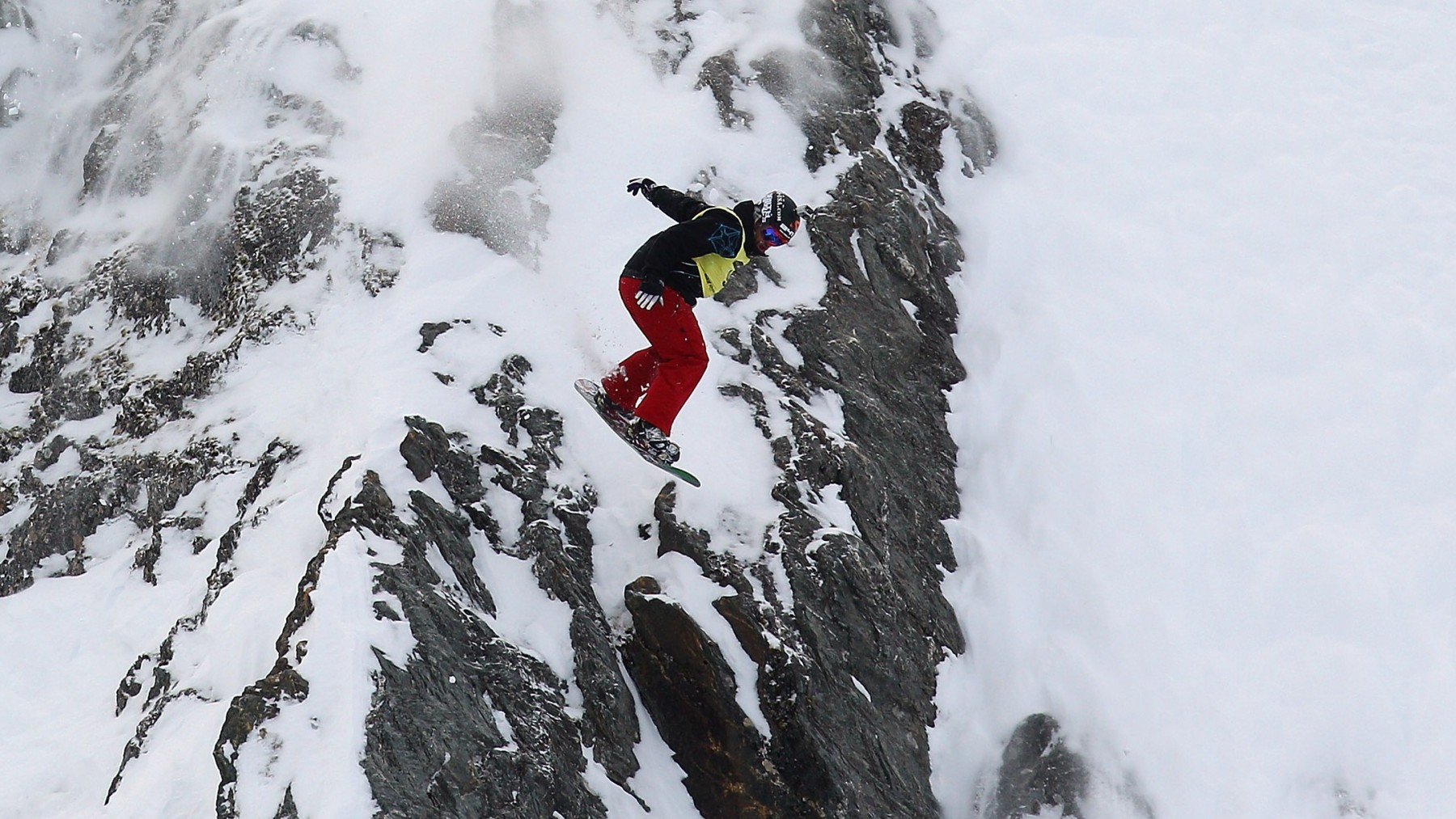 WANAKA, NEW ZEALAND - AUGUST 01:  Mike Basich of the United States launches off a drop during the World Heli Challenge Extreme Day at Mount Albert on Minaret Station on August 1, 2011 in Wanaka, New Zealand.  (Photo by Cameron Spencer/Getty Images)  https://www.youtube.com/watch?v=sadOfmkTtpw