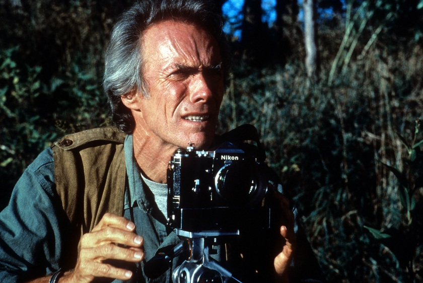 Clint Eastwood, Director for the film 'The Bridges of Madison County', 1995. (Photo by Warner Brothers/Getty Images)