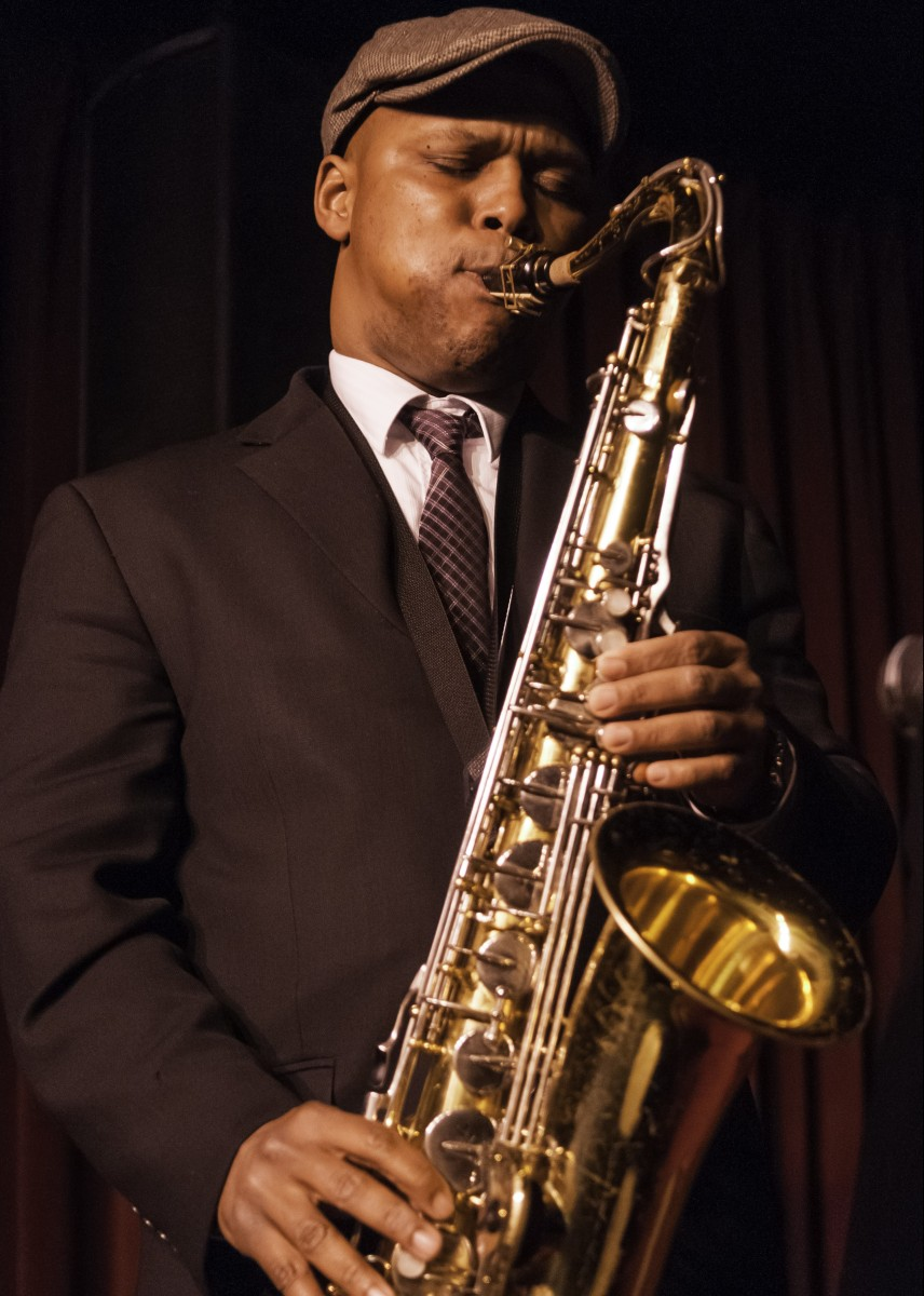 American Jazz musician JD Allen plays tenor saxophone as he leads his trio during a late set at the Village Vanguard, New York, New York, February 2, 2010. (Photo by Jack Vartoogian/Getty Images)   Without Jazz and Blues, There's No Americana http://www.theatlantic.com/entertainment/archive/2016/05/jd-allen-americana-jazz-blues/482751/