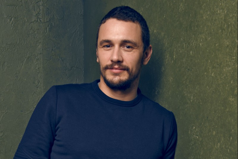 "PARK CITY, UT - JANUARY 24: Actor James Franco from ""True Story"" poseS for a portrait at the Village at the Lift Presented by McDonald's McCafe during the 2015 Sundance Film Festival on January 24, 2015 in Park City, Utah. (Photo by Larry Busacca/Getty Images)"