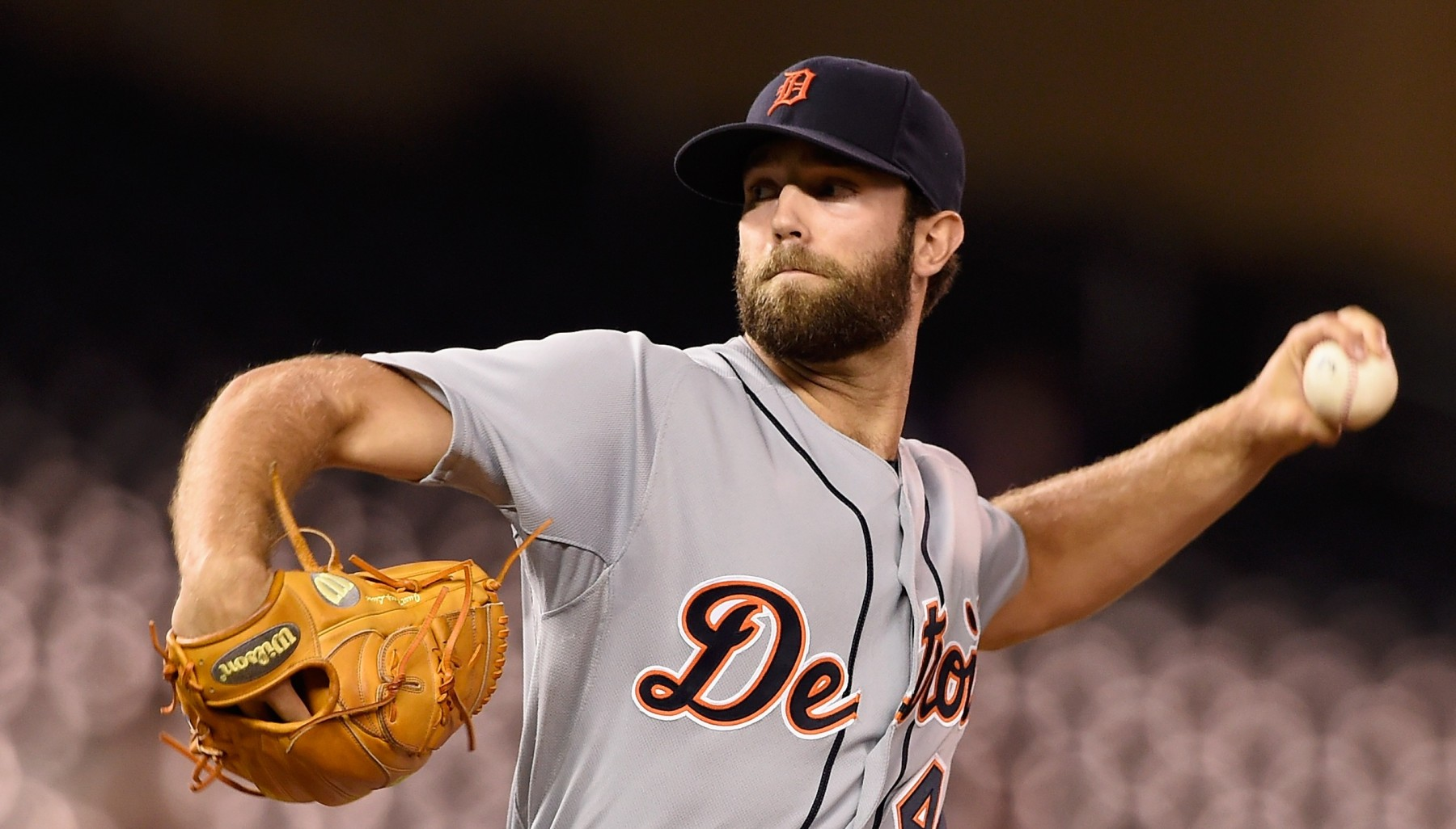 MINNEAPOLIS, MN - SEPTEMBER 16: Daniel Norris #44 of the Detroit Tigers delivers a pitch against the Minnesota Twins during the first inning of the game on September 16, 2015 at Target Field in Minneapolis, Minnesota. (Photo by Hannah Foslien/Getty Images)  https://www.youtube.com/watch?v=wKPa3uVddbU