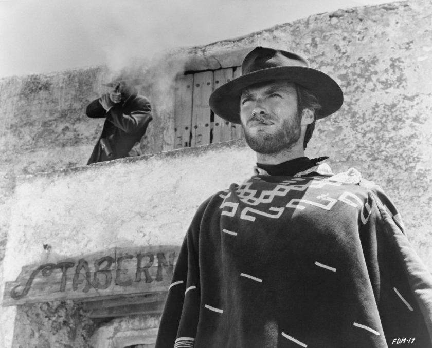 Clint Eastwood as The Man With No Name in the 1965 Italian-made Western For a Few Dollars More. (Photo by �� John Springer Collection/CORBIS/Corbis via Getty Images)