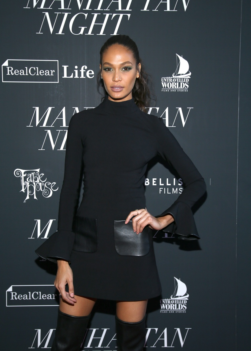 """NEW YORK, NY - MAY 16: Joan Smalls attends the """"Manhattan Night"""" New York Screening at Regal Cinemas Union Square on May 16, 2016 in New York City. (Photo by Paul Zimmerman/WireImage)"""