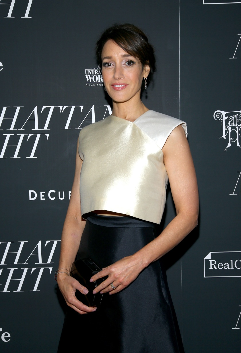 """NEW YORK, NY - MAY 16: Actress Jennifer Beals attends the """"Manhattan Night"""" New York Screening at Regal Cinemas Union Square on May 16, 2016 in New York City. (Photo by Paul Zimmerman/WireImage)"""