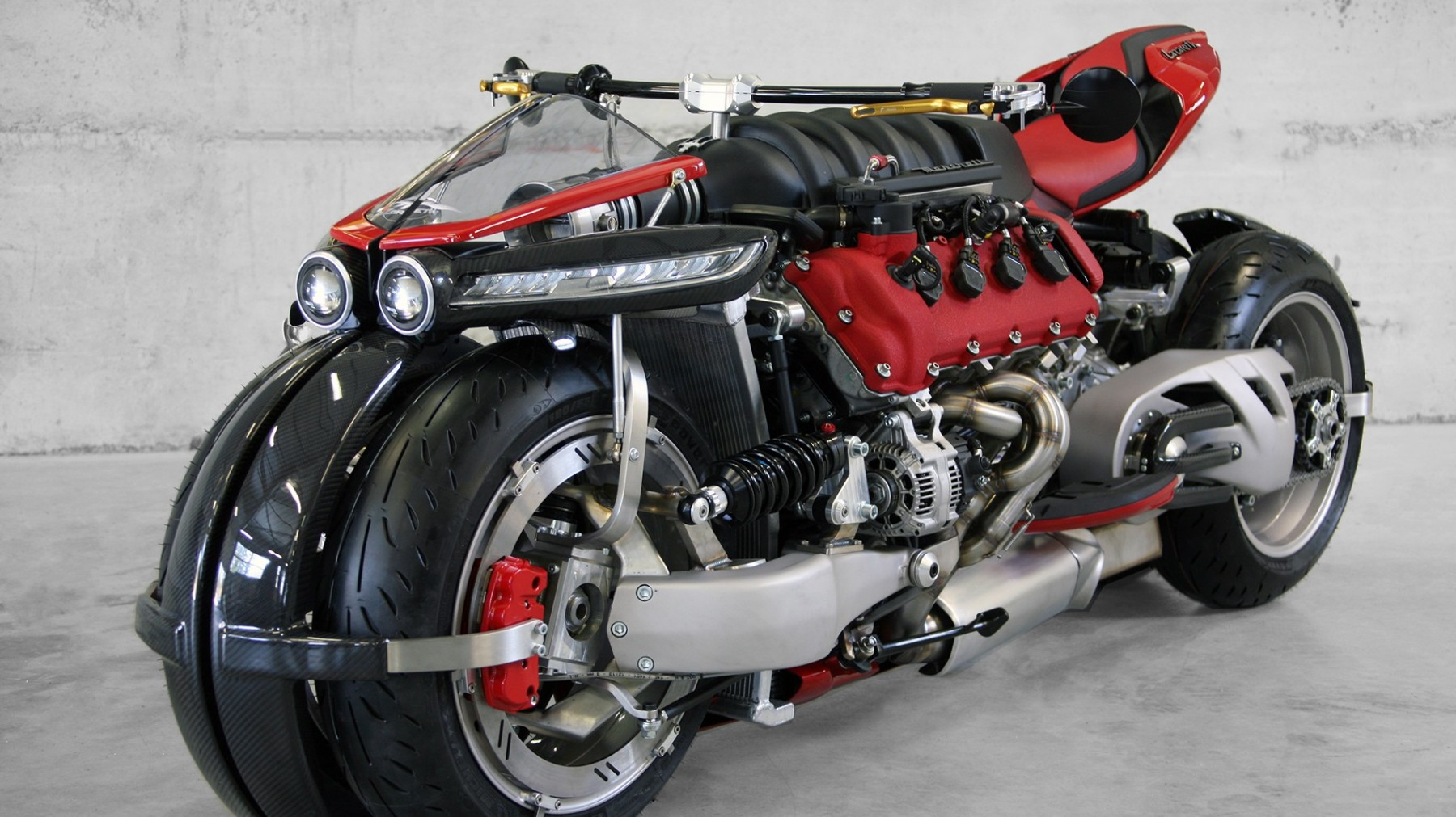 Lazareth Bike with a Maserati Engine