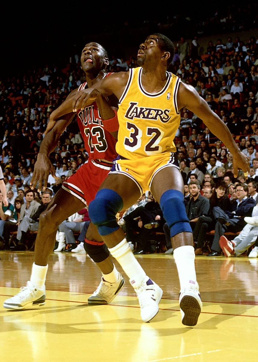 Magic Johnson vs. Michael Jordan