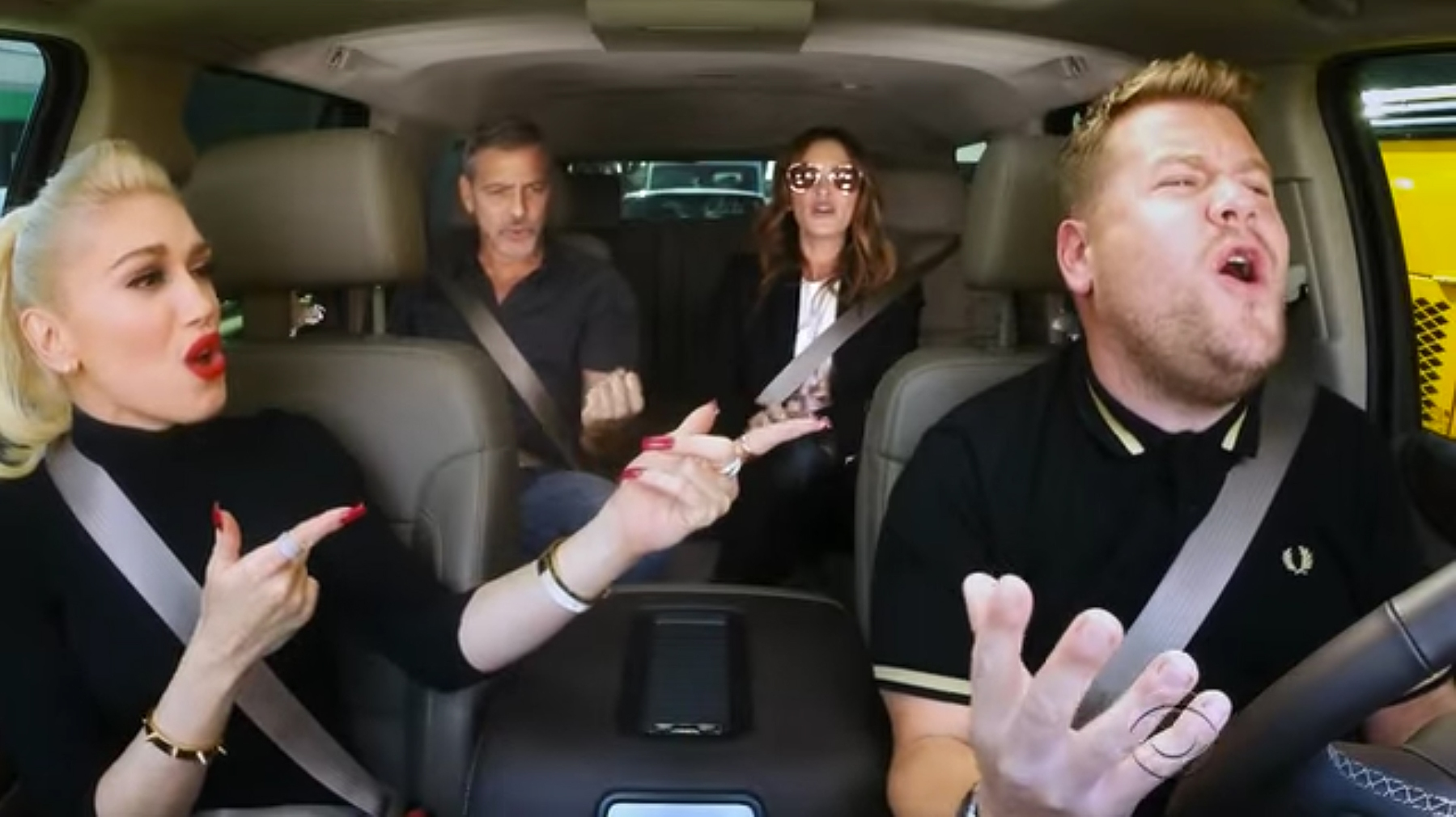 Carpool Karaoke Featuring Gwen Stefani, George Clooney, Julia Roberts