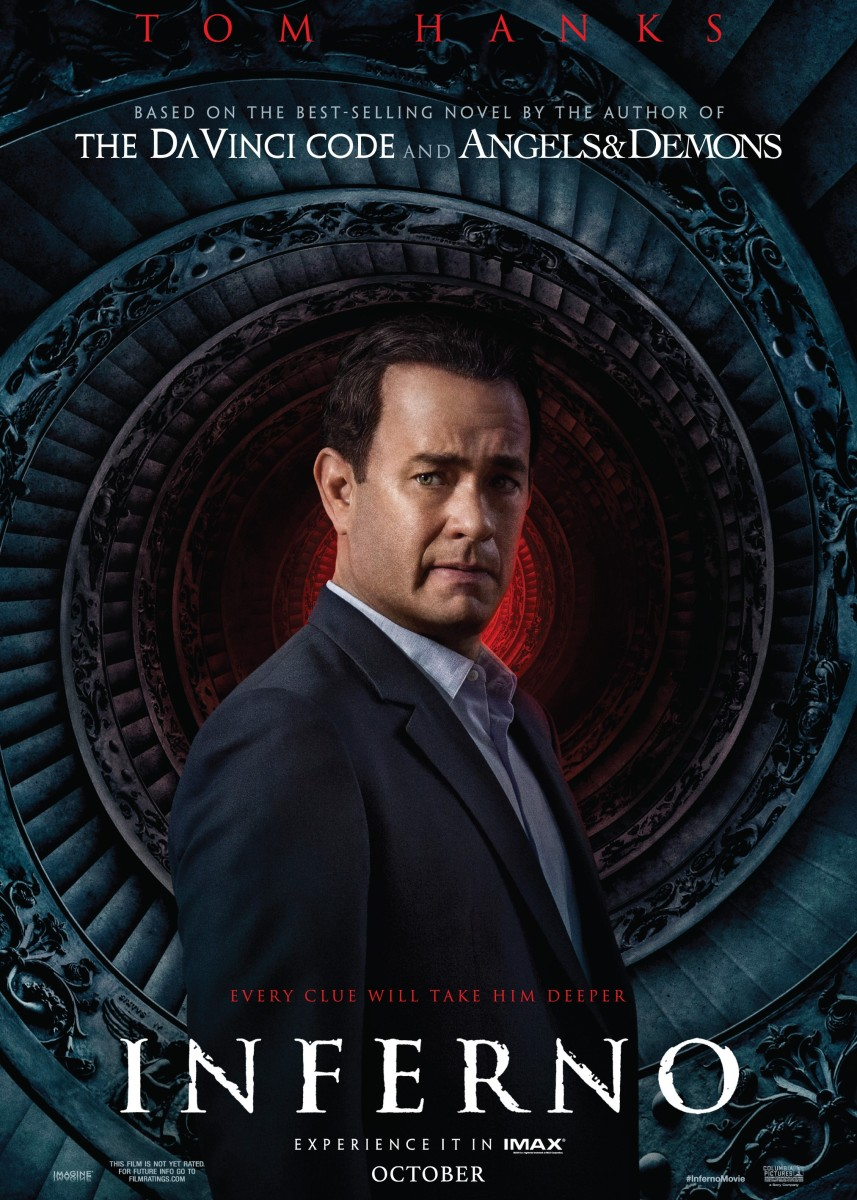 Watch the New Trailer for 'Inferno' Starring Tom Hanks