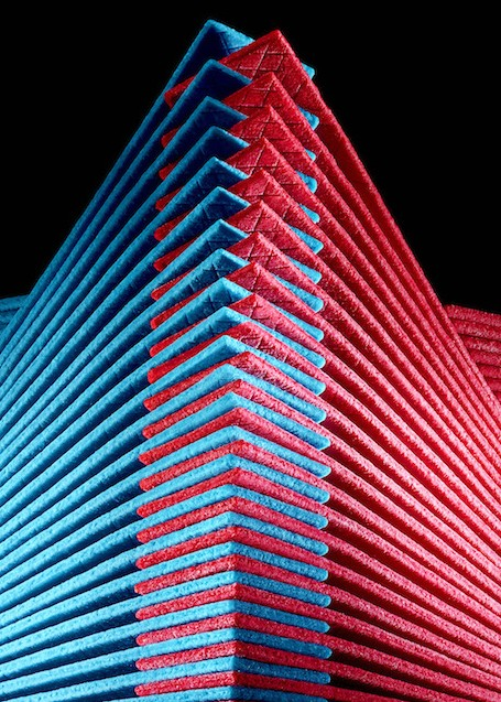 Architectural Designs Made With Gum