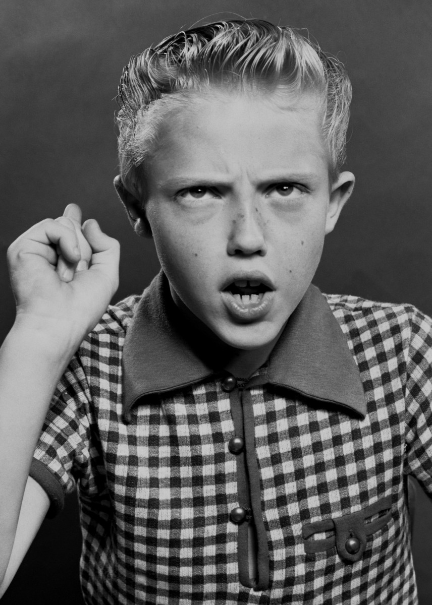 Actor Ronnie Walken at 10 years old in New York City. (Constance Bannister Corp/Getty Images)