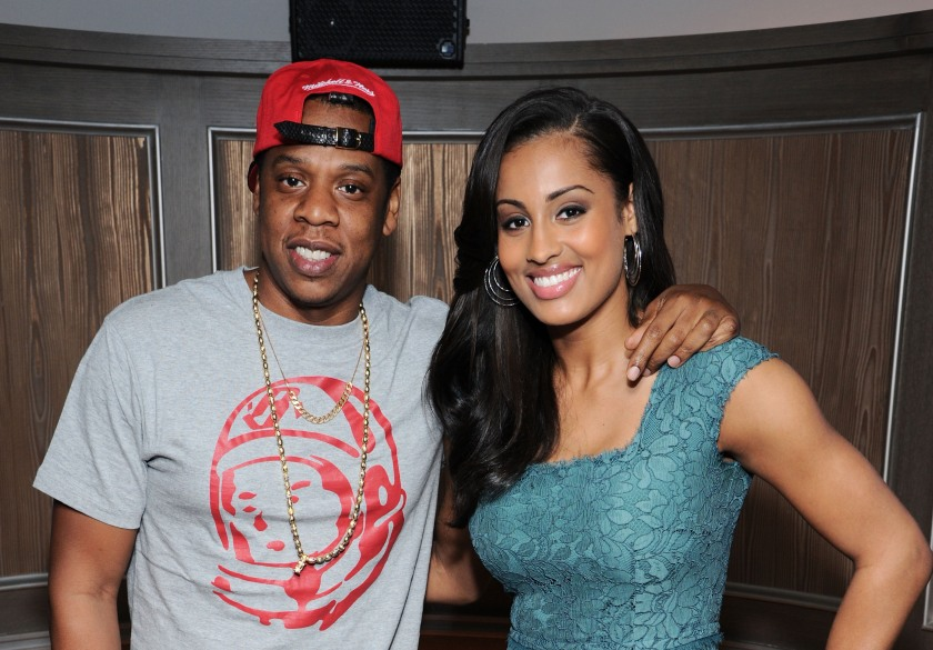 Jay-Z welcomed Skylar Diggins to Roc Nations Sports with a party at 40 / 40 Club in New York City. He made his agents sign her after seeing her on Sportscenter. (Ilya S. Savenok/Getty Images)