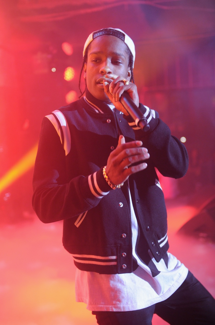 A$AP Rocky performs at the #DKNY25 Birthday Bash on September 9, 2013 in New York City. (Jamie McCarthy/Getty Images for DKNY)