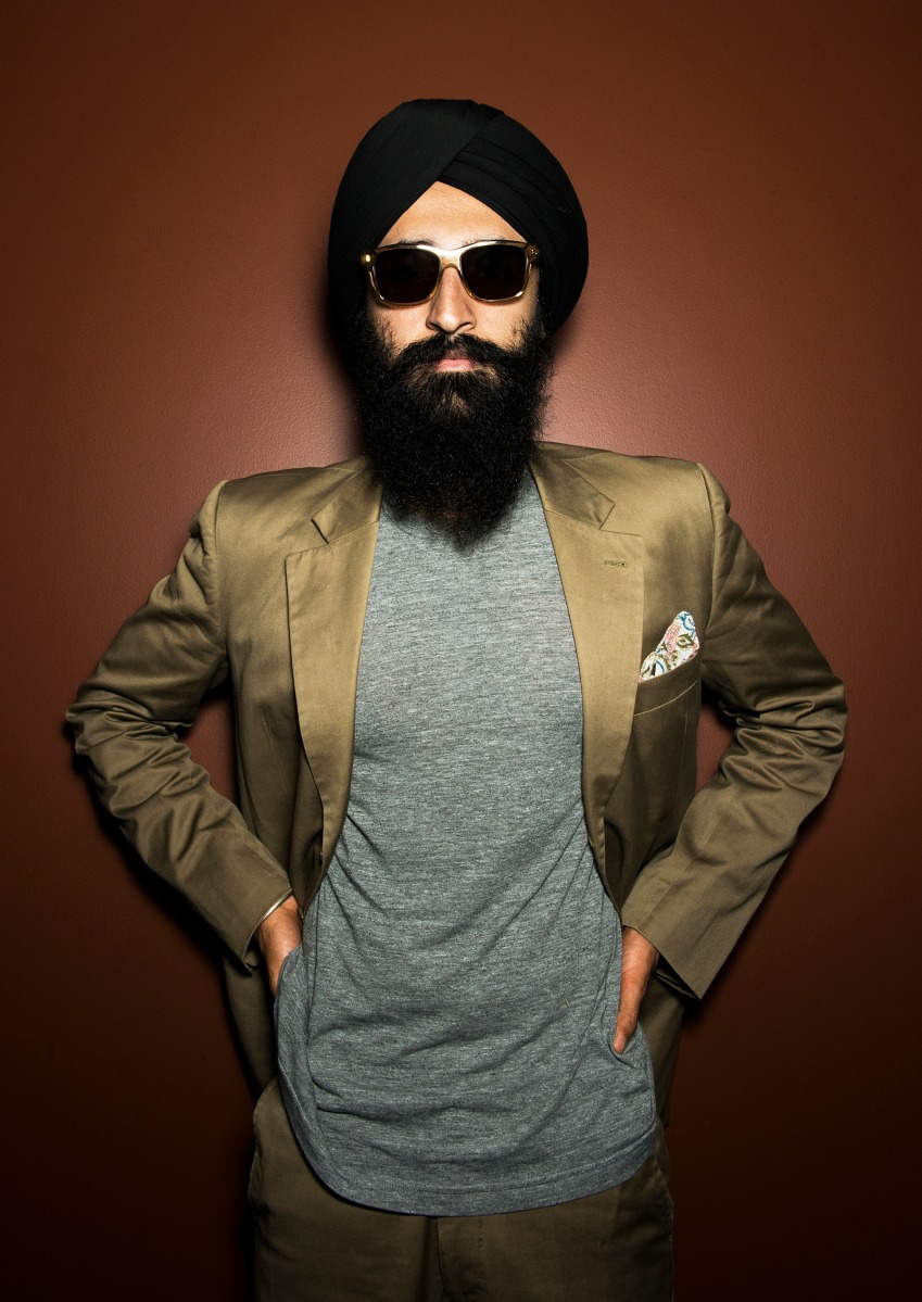 ISTANBUL, TURKEY - JUNE 13: Designer and actor Waris Ahluwalia is photographed on June 13, 2014 in Istanbul, Turkey. (Photo by Selin Alemdar/Getty Images)