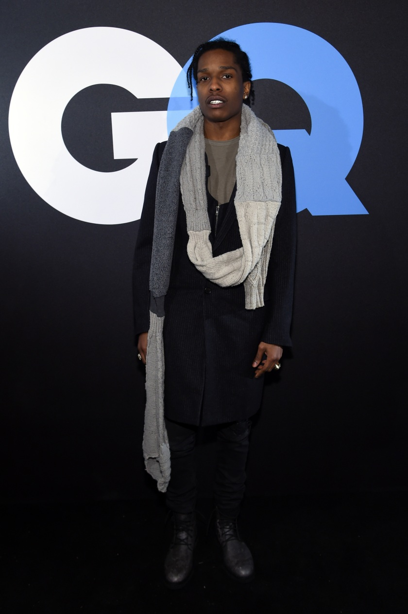 Rapper A$AP Rocky attends GQ and LeBron James Celebrate All-Star Style on February 14, 2015 in New York City. (Jamie McCarthy/Getty Images for GQ)