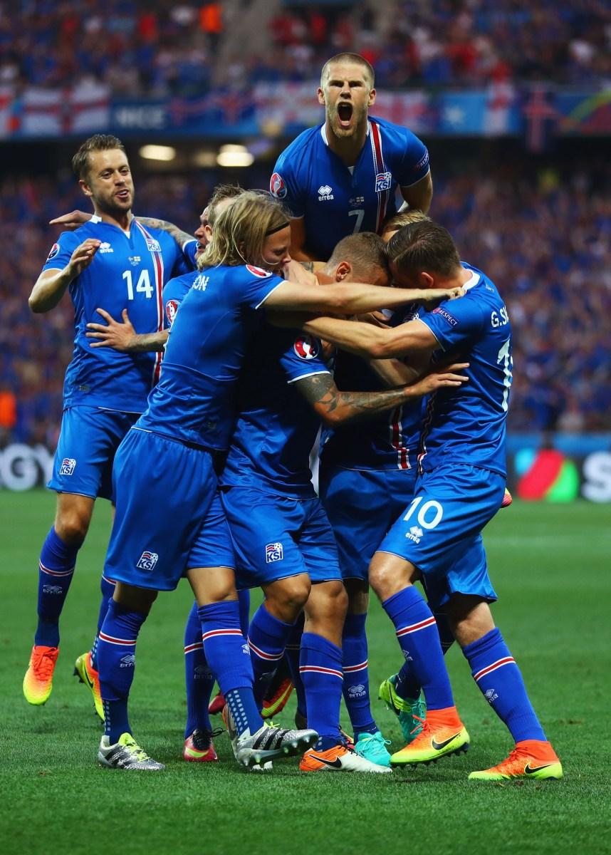 Iceland Beats England