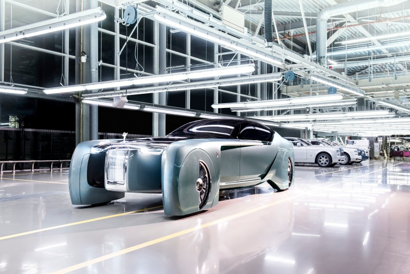Rolls Royce Vision 100 Concept Car