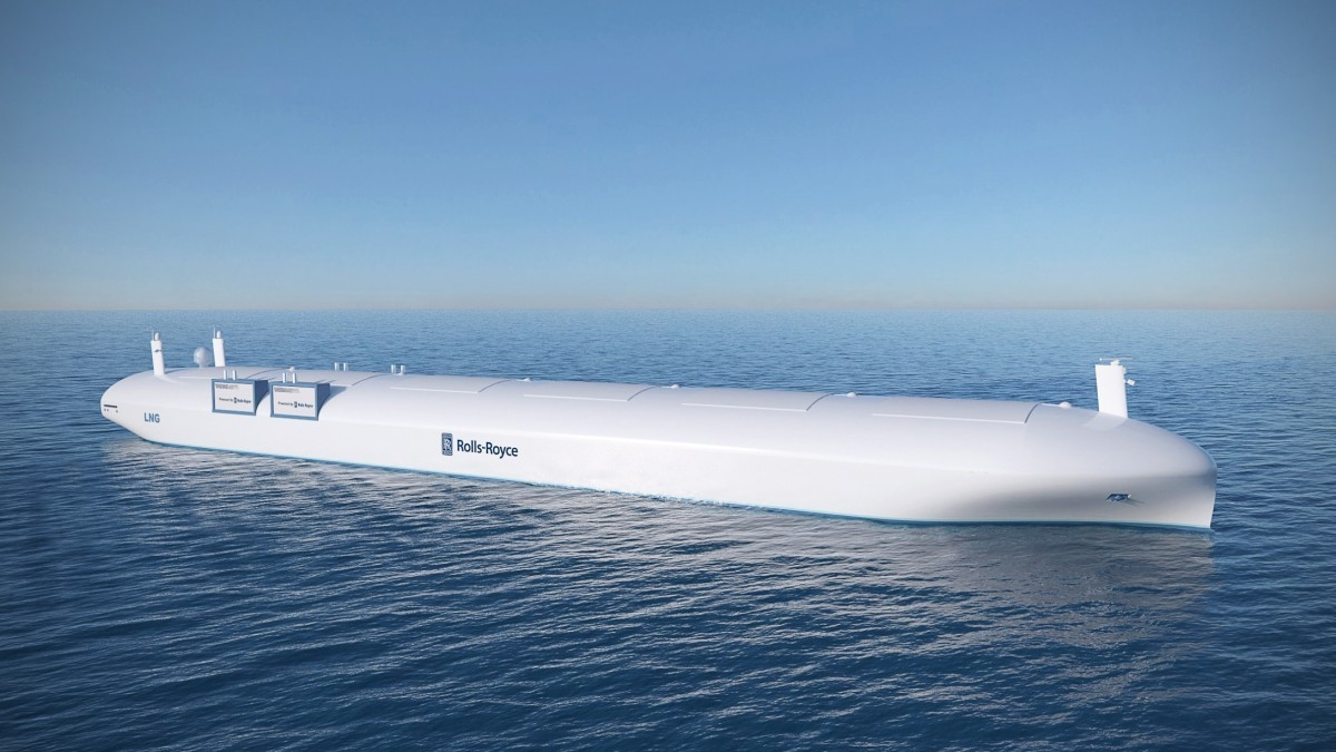 Rolls-Royce Remote-Controlled Cargo Ship