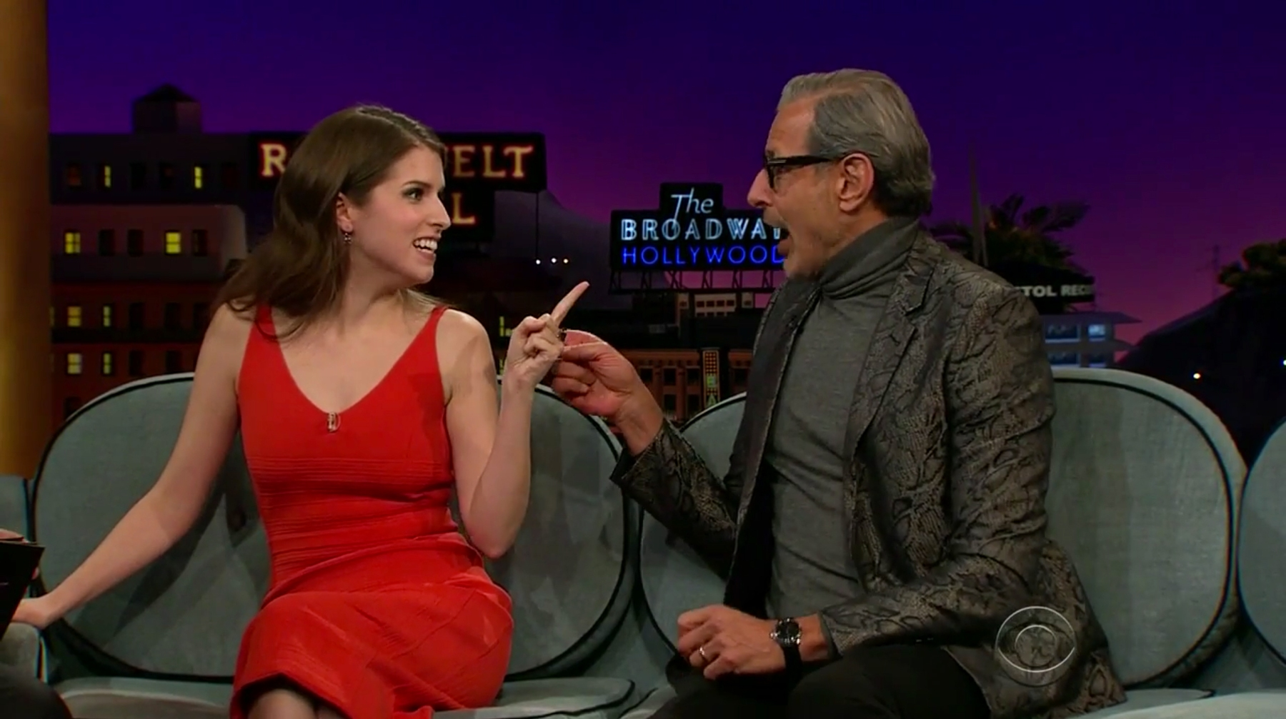 Jeff Goldblum Tried to Dance With Anna Kendrick Before Introducing Himself