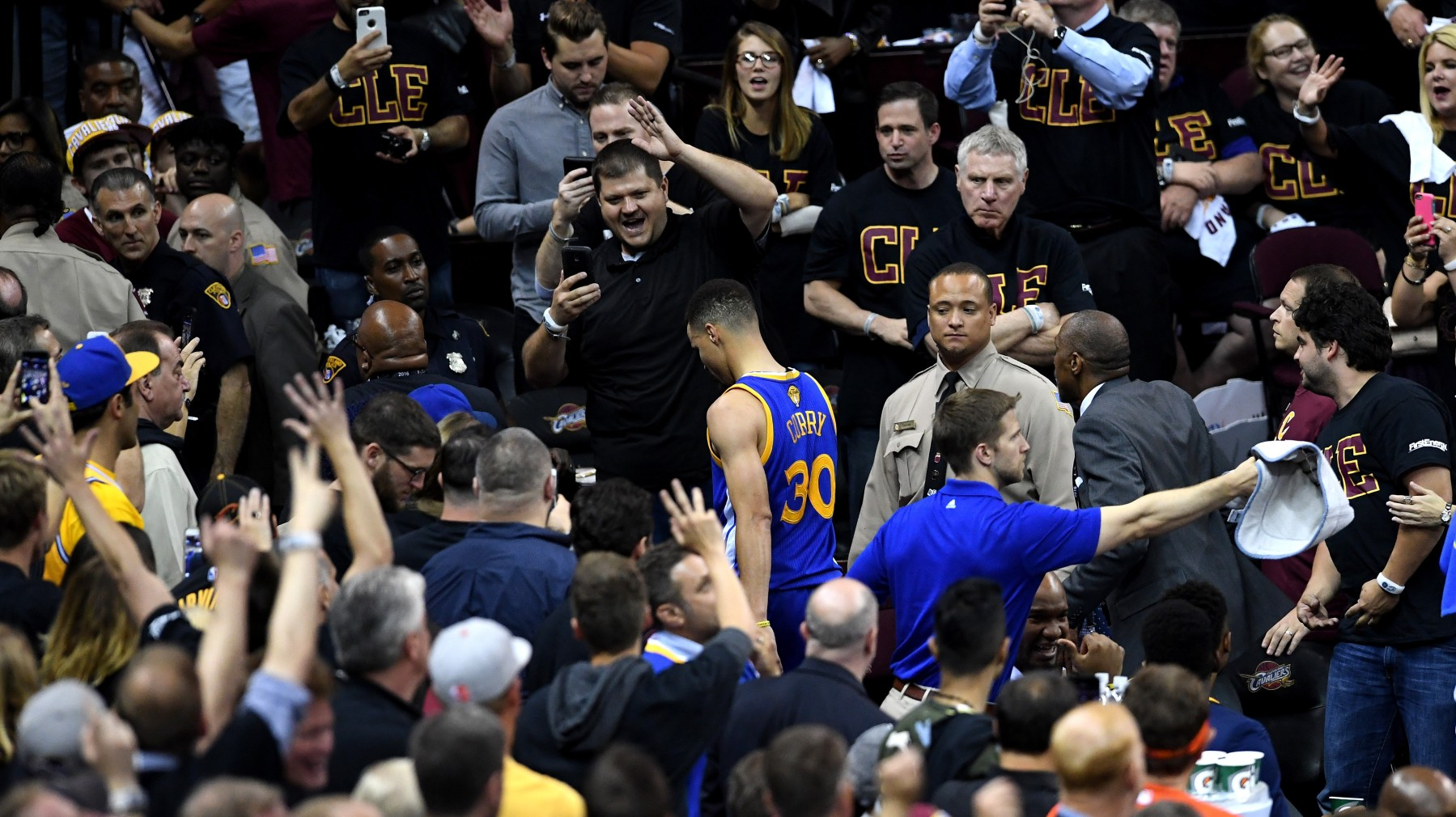 Steph Curry Ejection