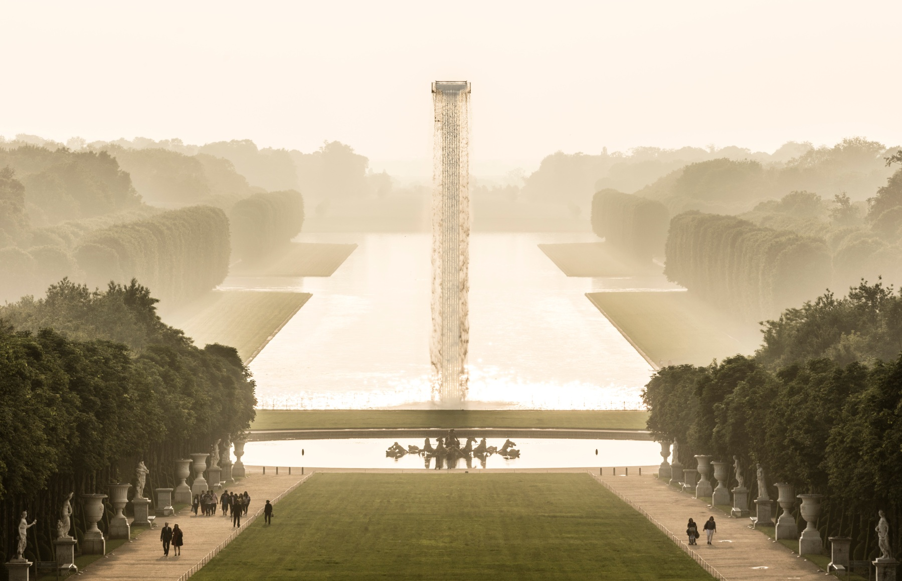 Artist Olafur Eliasson Installs a Giant Waterfall at Palace of Versailles
