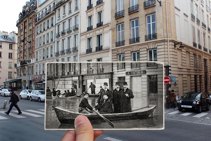 1910 Paris Flood Then and Now http://golem13.fr/crue-paris-2016/ Story: http://www.mymodernmet.com/profiles/blogs/julien-knez-paris-flooding-then-now