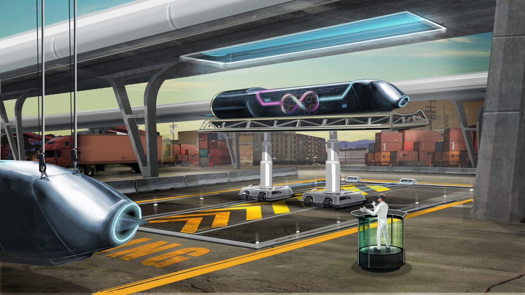 (Courtesy Hyperloop One)