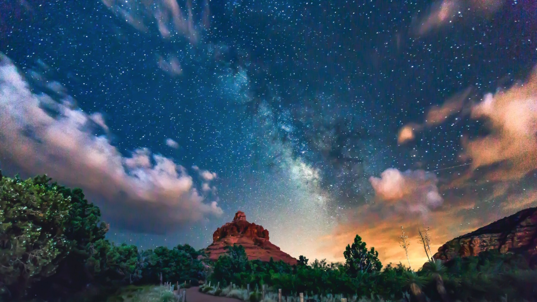 MANDATORY CREDIT: Stephen Ippolito/REX Shutterstock. Only for use in this story. Editorial Use Only. Strictly no stock, books, advertising or merchandising without photographer's permission. Mandatory Credit: Photo by Stephen Ippolito/REX/Shutterstock (5048076o) The Milky Way pictured above Bell Rock, Sedona, Arizona. During the 30-second exposure used to capture this photo several bolts of lightening lit up the sky Seal photobombs milky way, America - 14 Aug 2015 FULL COPY: http://www.rexfeatures.com/nanolink/qypq  A photographer captured the incredible moment a seal photo-bombed a shot of the Milky Way.  Photographer Stephen Ippolito, 45, regularly takes photos of the Milky Way, and was pleasantly surprised to see a seal photo-bombing his perfect shot.  Stephen was setting up his camera, whilst waiting for friends to arrive, when he saw something moving on the sand.  To his surprise it was a seal, basking on the sand. The seal began to waddle closer to Stephen and he decide to capture the perfect moment.