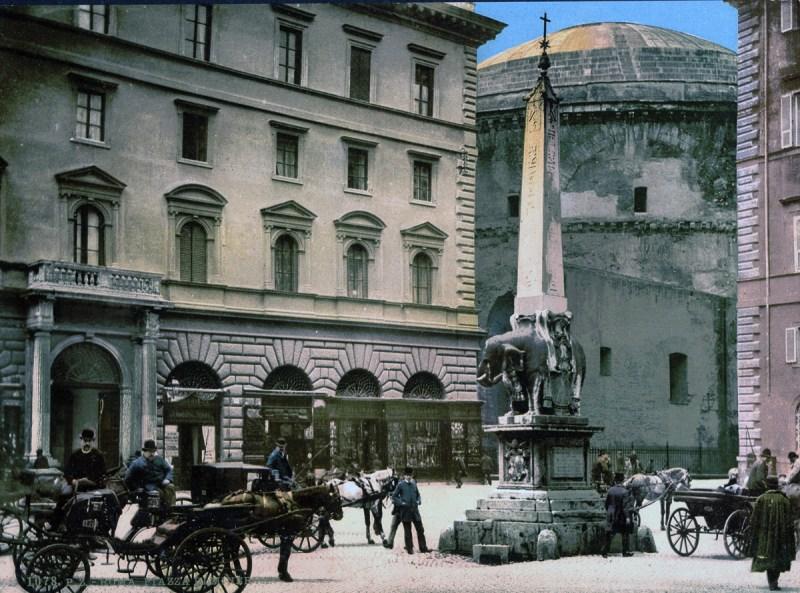 Piazza di Minerva (Library of Congress)