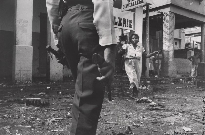 """""""Haiti,"""" 1987. Gelatin silver prints montage. (Danny Lyon, courtesy Edwynn Houk Gallery, New York)"""