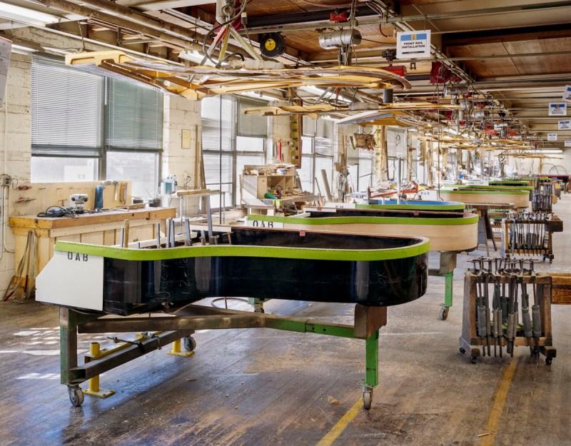Steinway & Sons Piano Factory, Location: Astoria NY