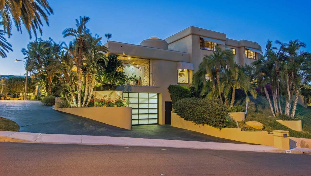 Can You Guess Which Hair Metal Star Calls This Mansion Home?