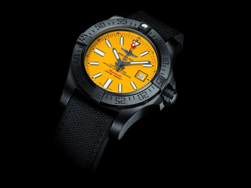 Breitling Seawolf II Blacksteel