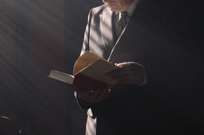 Bob Odenkirk as Jimmy McGill - Better Call Saul _ Season 1, Episode 8 - Photo Credit:Ursula Coyote/AMC