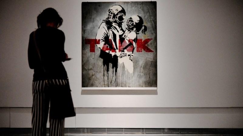 Banksy 'Think Tank'